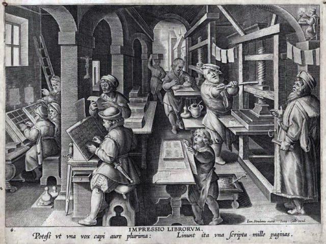 Изобретение книгопечания