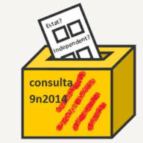 9 N Consulta sobre la independencia en Catañunia
