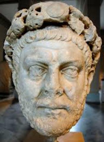 Diocletian Splits Roman Empire