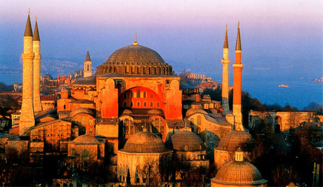 Hagia Sophia Is Built For The Third Time