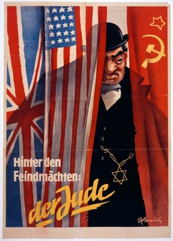 Propaganda Nazi. II Guerra Mundial.