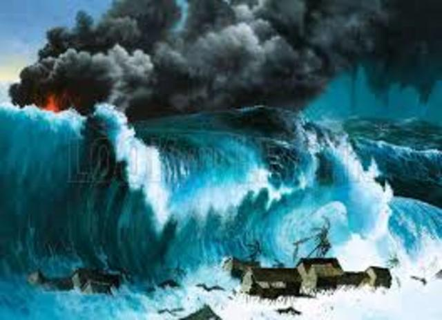 tsunamis of the world timeline timetoast timelines