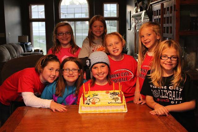 My 10 birthday Party