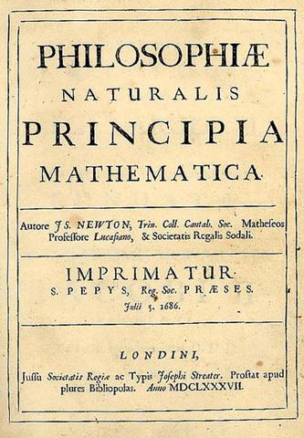 Publication of Principia