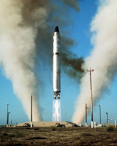 First Intercontinental Ballistic Missile