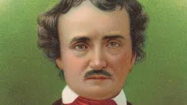 Poe writes his first novel The Narrative of Arthur Gordon Pym