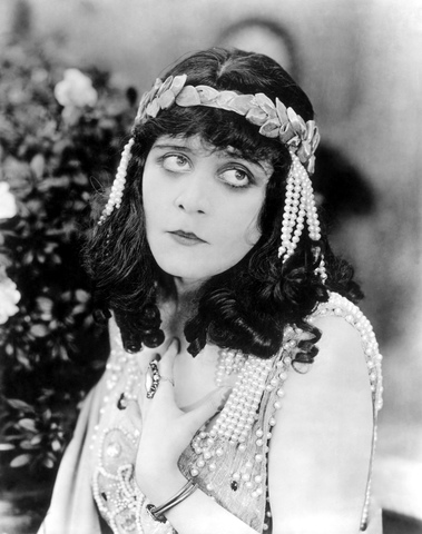 Theda Bara becomes first female movie star