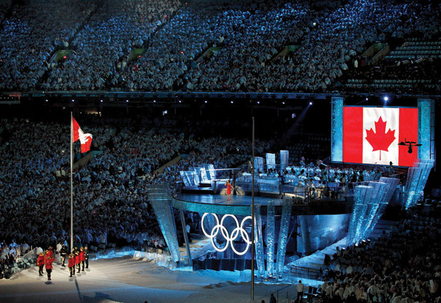 The Winter Olympic Games in Vancouver