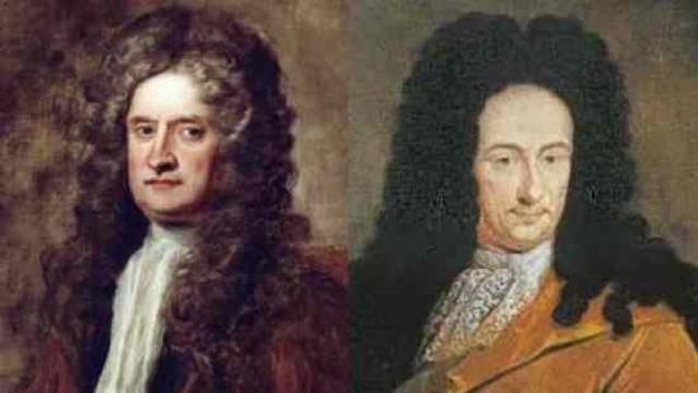 Исаак Ньютон  (1643 – 1727) и Вильгельм Лейбниц (1646 – 1716) Истчник -http://portal.tpu.ru/SHARED/t/TOKTV/page_2/Tab/Ньютон%20и%20Лейбниц.ppt