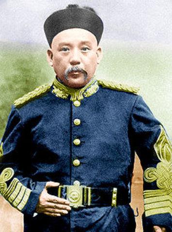 Fall of Yuan Shikai