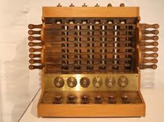 Primera calculadora mecanica