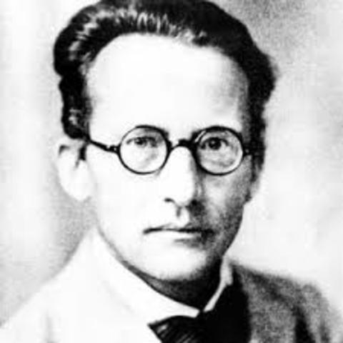 Erwin Schrodinger's atomic theory