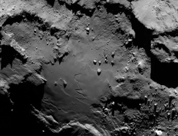First Spacecraft to Orbit a Comet