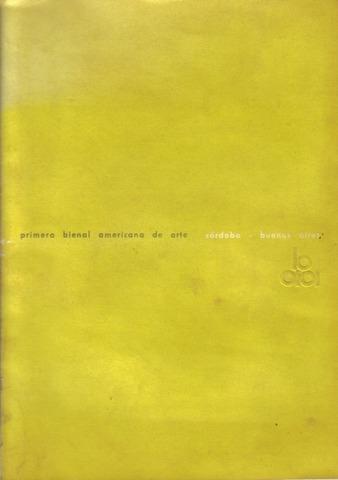 primera Bienal Americana de Artes Gráficas