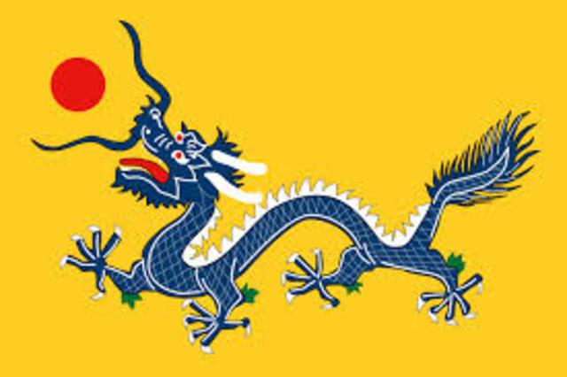 End of Manchu Dynsasty