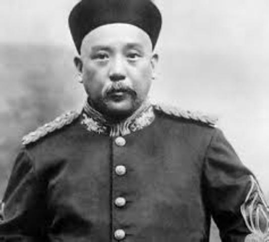 Yuan Shih Kai fall from power