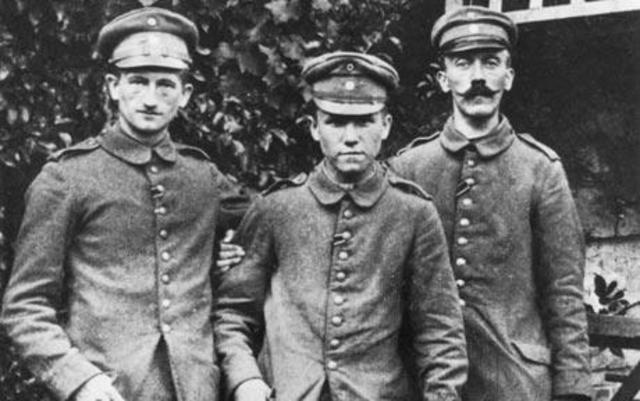 Hitler Enlists in the German Army