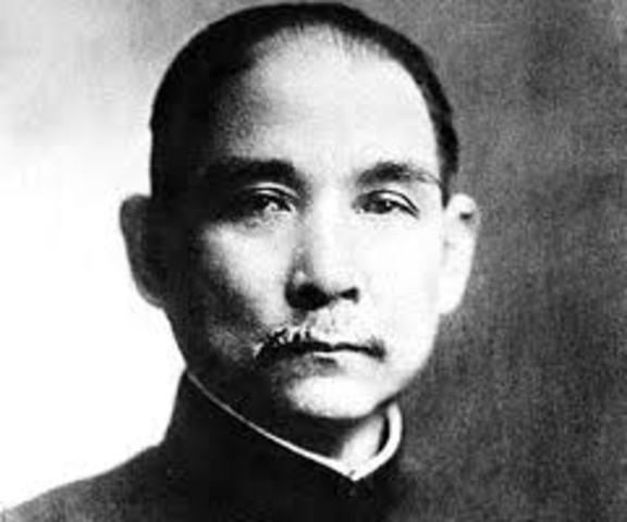 Sun Yat Sen death