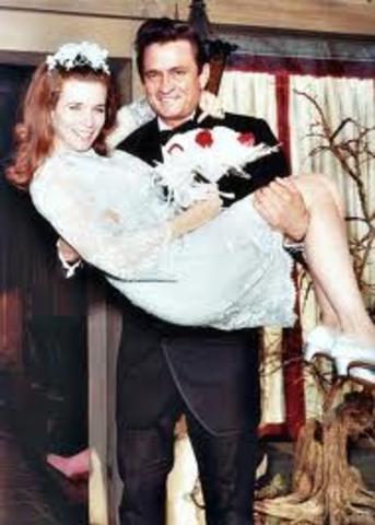 married June Carter