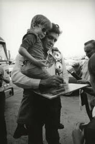 john carter, his first son is born