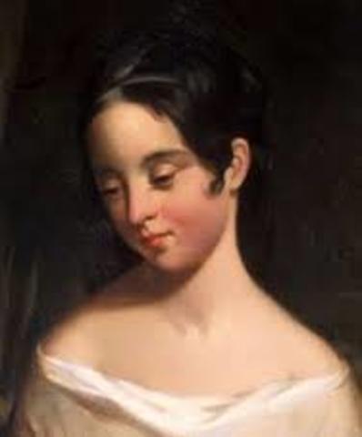 Jan 30, 1847 Poe's wife Virginia dies of tuberculosis at their home in the Bronx.