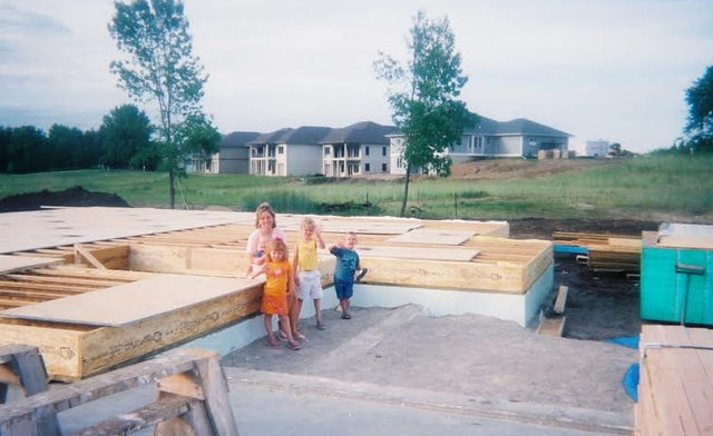 Started Building House