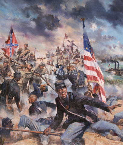 The Battle of Fort Pillow