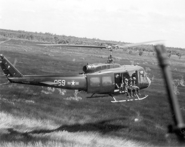 American Helicopters arrive in South Vietnam