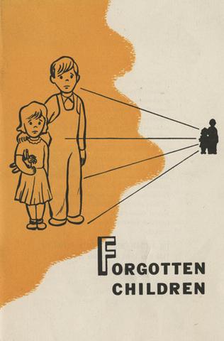 Forgotten Children pamphlet criticizes Eugenics Movement