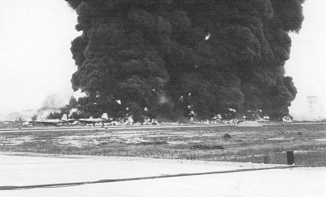 Shelling at Bien Hoa Air Base