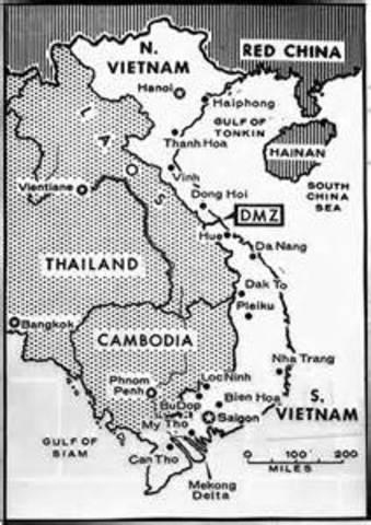 North Vietnam crosses the DMZ