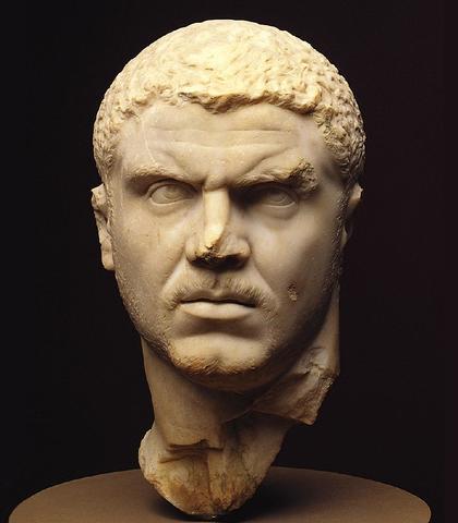 Carcalla - Anerkender alle frie indbyggere i riget, som romerske borgere