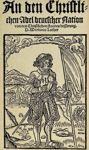 Veröffentlichung der reformatorischen Hauptschriften