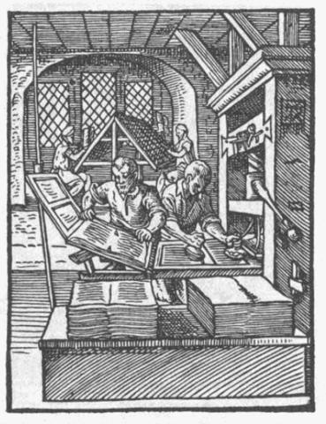 Erfindung Buchdruck