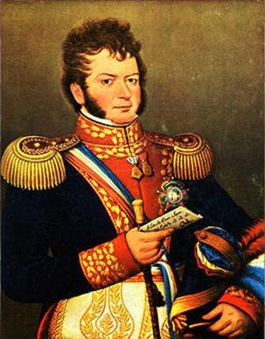 Proclaman la independencia de Chile