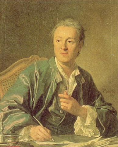 Diderot evidencia la concordancia de las lineas costeras
