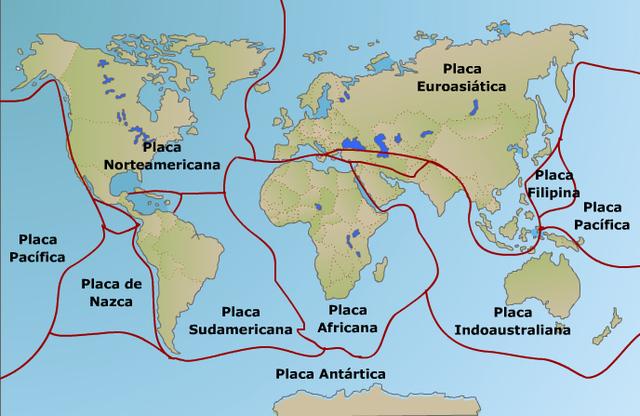 La teoría de la tectónica de placas