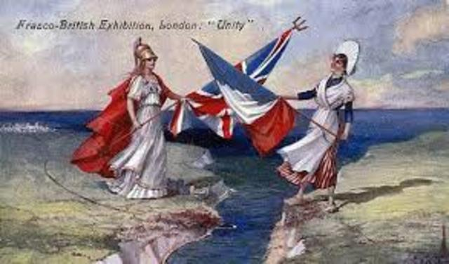 Britain and France make naval agreement