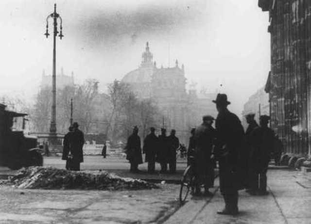 Hitler- Reichstag Fire
