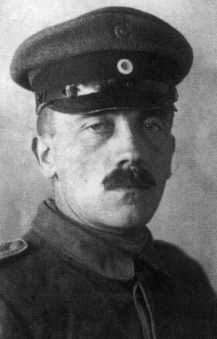 Hitler Promoted Gefreiter to in German Army