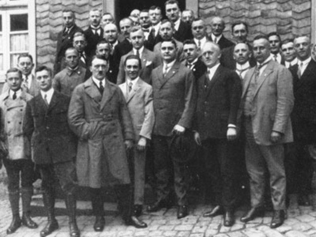 Hitler Joined the Germans Workers Party