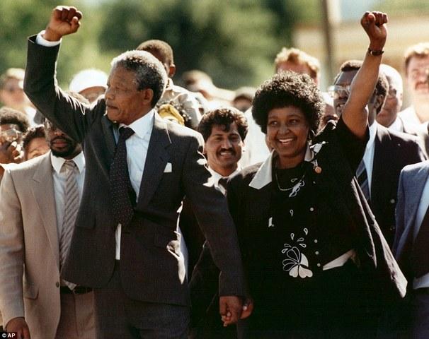 Mandela was released from Prison