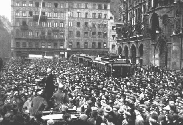 Hitler- Beer Hall Putsch (Munic Putsch)
