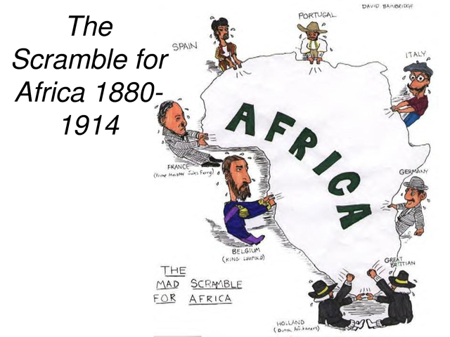 Scramble for Africa ends