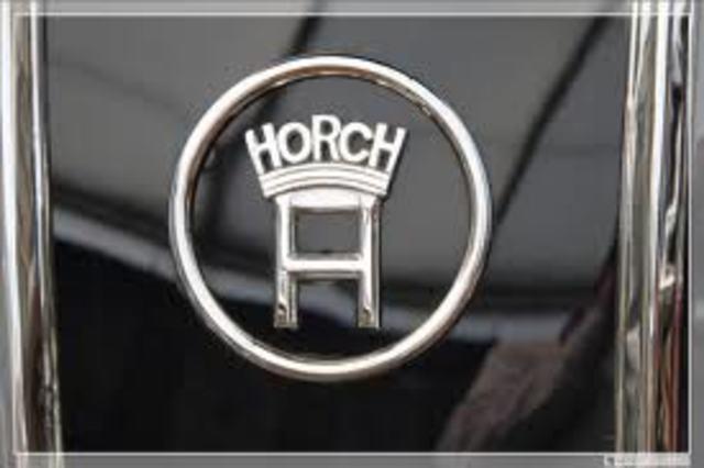 August Horch & Cie. Motorwagenwerke AG Founded
