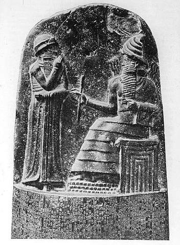 CODIGO HAMMURABI  1800 AC