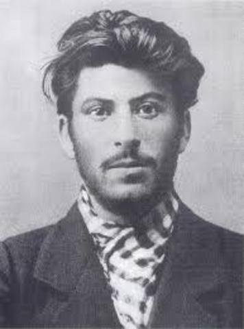 Stalin- Joins the Bolsheviks