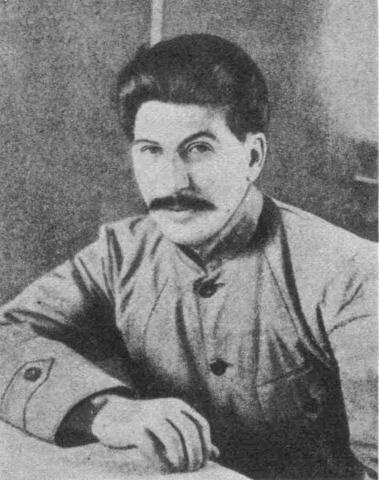 Stalin promoted to Commissar of Nationalities