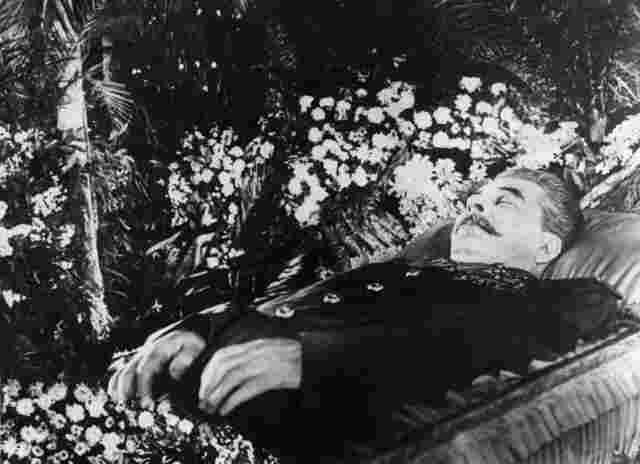 Stalin Dies of a Stroke