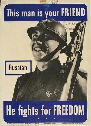 USSR becomes an Ally